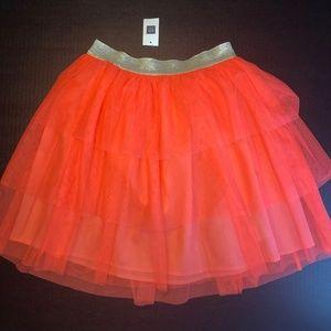 GAP Girls Ruffled Pink Skirt
